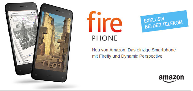 Amazon Fire Phone mit Telekom Allnet Flat