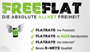 Freenetmobile Freeflat - Die absolute AllNet Freiheit