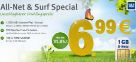 GMX WEB.DE All-Net & Surf Special
