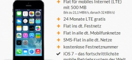 iPhone 5s mit O2 Blue All-in M Allnet Flat Vertrag