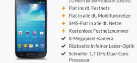 O2 Blue Allnet Flat Samsung Galaxy S4 mini